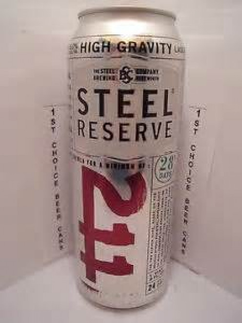 211 High Gravity Malt Liquor. 211 is police code for robbery