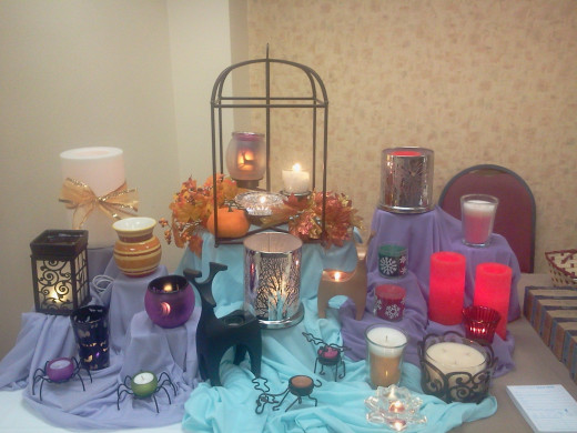 Party Lite Candles Assortment