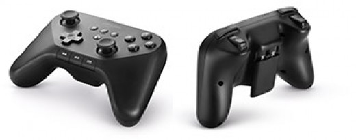 An image of the wireless Amazon Fire gaming controller