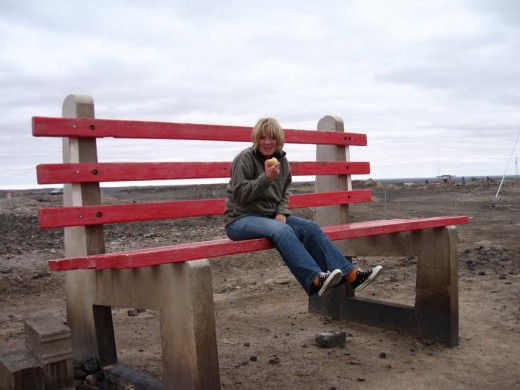 Big Park Bench (sponsored by BHP?)