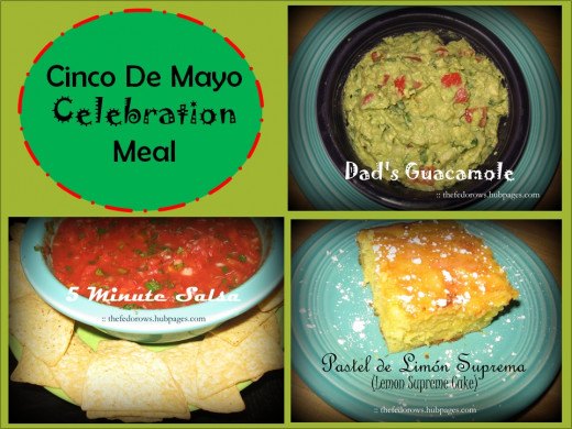 On Cinco De Mayo (May 5) our family celebrates Mexican culture by making papel picado decorations and delicious recipes: homemade salsa, fresh guacamole, chicken tinga, and pastel de limón suprema!