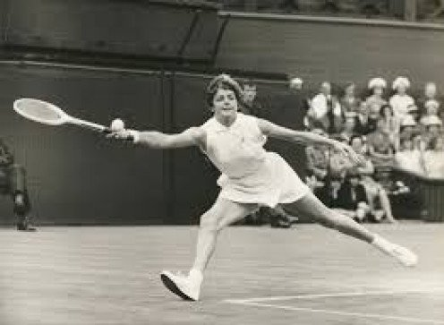 Margaret Court always gave it her all, win or lose, every time out.