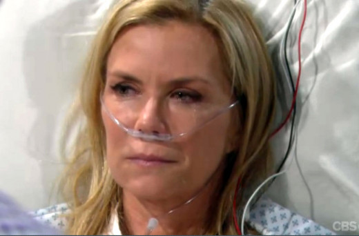 Brooke thought her and Bill's secret was safe when she learned she'd suffered a missed miscarriage.