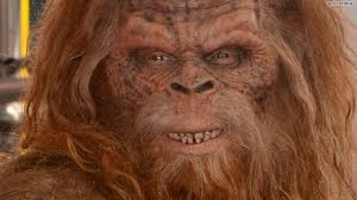 Bigfoot is now used as a commercial joke