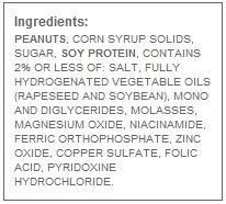 Harmful ingredients in peanut butter. These can all be avoided by making peanut butter at home!