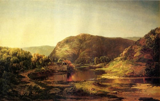 """Shenandoah Valley,"" oil on canvas, by the artist William Louis Sonntag. Courtesy of the Virginia Historical Society"