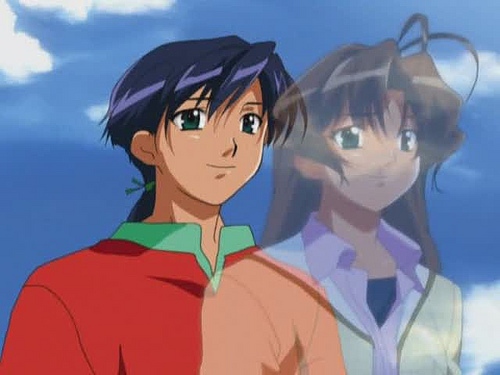 The main character in the series, in both of his forms.