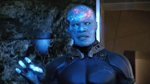 Jamie Foxx stole the show as Electro.