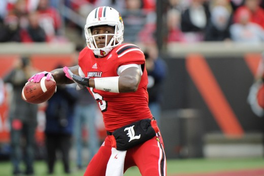 I'll be very interested to see where former Louisville quarterback Teddy Bridgewater is taken in this draft