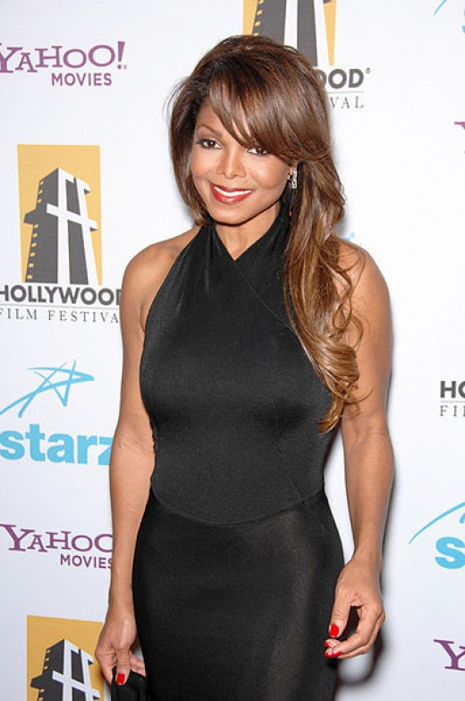 Janet Jackson at the Hollywood Film Festival's 11th Annual Hollywood Awards at the Beverly Hilton Hotel. Los Angeles, CA