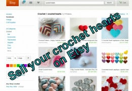 Too much crochet?  Try selling it online at Etsy
