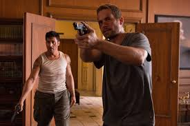 David Belle and the late Paul Walker star in the action adventure film Brick Mansions