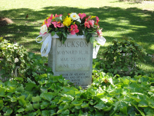 Maynard Jackson Served the City of Atlanta as Mayor from 1974-1982 and 1990-1994.