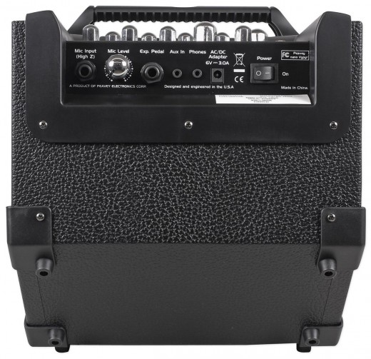 Peavey Nano Vypyr Rear Panel