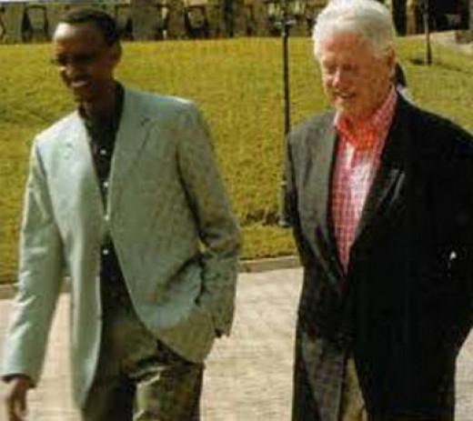 Kagame and Clinton