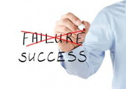 How do you turn failure into success?