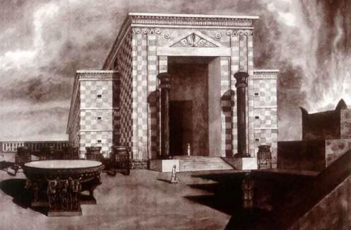 Artist Rendition - Temple of Solomon