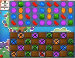 Candy Crush Level 56 - Annoying Chocolates!