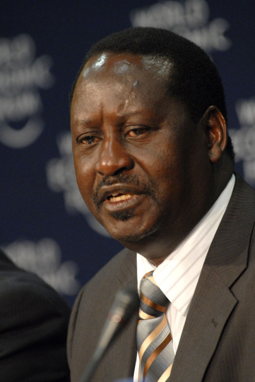 Raila Odinga - The former Prime Minister