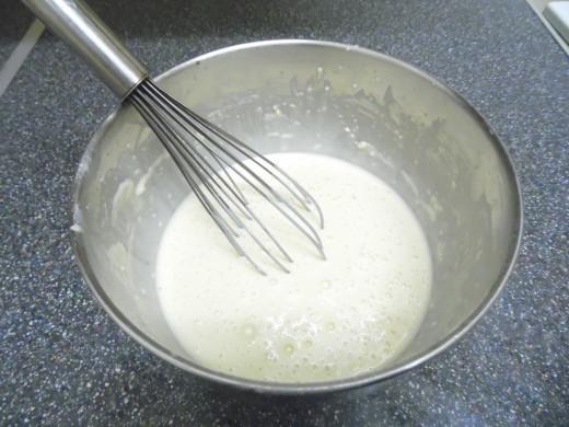 Thin pancake mix