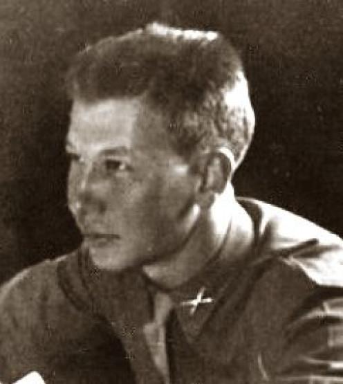 Captain Aloysius Menke (A Battery, 589th FAB)