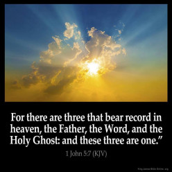 GOD'S  MANIFESTATIONS: The Holy Spirit and Jesus Christ