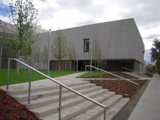 The Clyfford Still Museum in Denver, Colorado