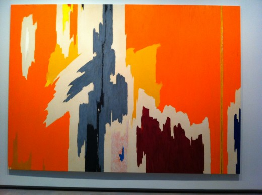 "Clyfford Still, ""PH-972,"" ca 1959. Oil on canvas, 112 x 155 in. Clyfford Still Museum Collection © Clyfford Still Estate."