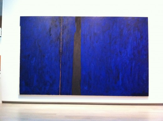 "Clyfford Still, ""PH-247,"" ca 1951. Oil on canvas, 117 x 192 in. Clyfford Still Museum Collection © Clyfford Still Estate."