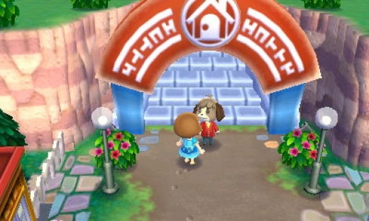 """Talking to this friendly dog in """"Animal Crossing: New Leaf"""" will help you access the game's StreetPass features."""