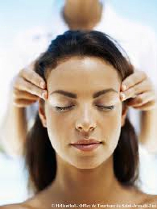 A head massage is very soothing and can lead to sound sleep at night.
