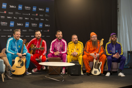 Icelands' Pollapönk at the Meet&Greet Eurovision 2014