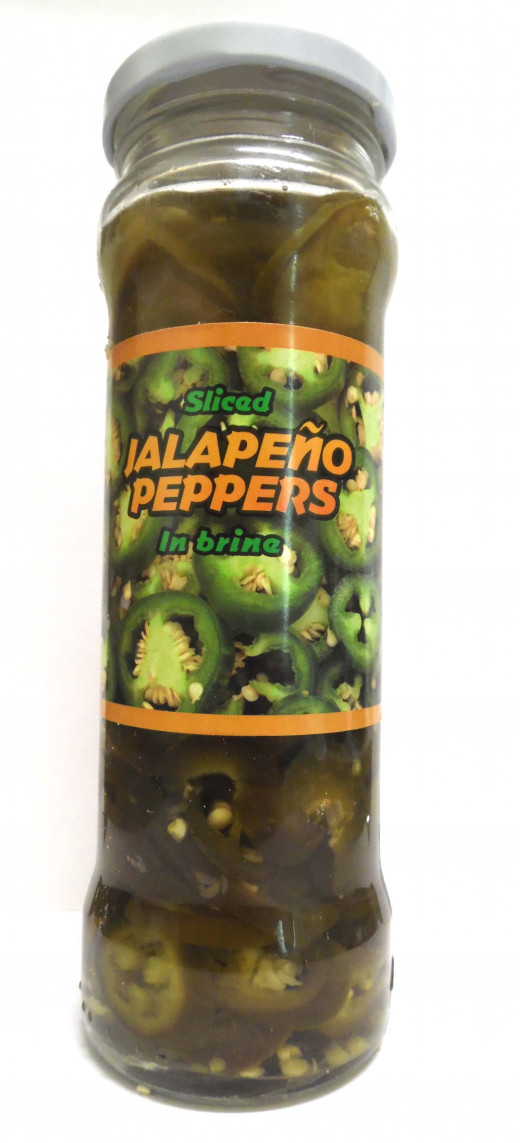 Jalapenos in a jar