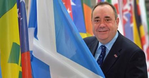 Alex Salmond at the EU
