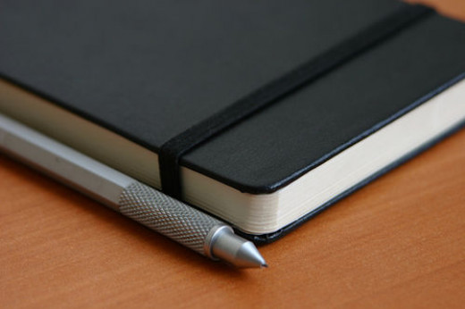 A notebook can help you improve your productivity.