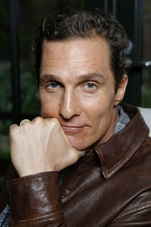Matthew McConaughey, Dallas Buyers Club, Magic Mike, Dazed and Confused