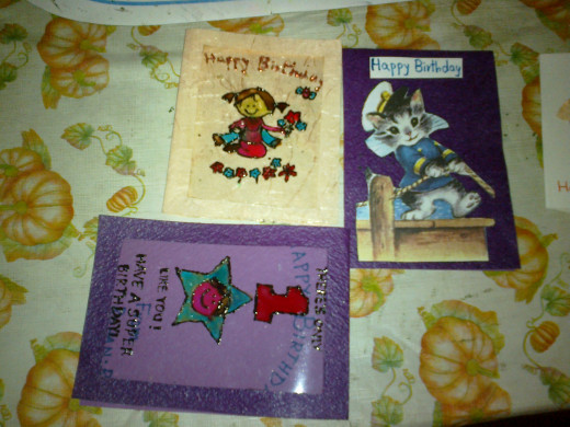 OHP Cards & Simple Cards