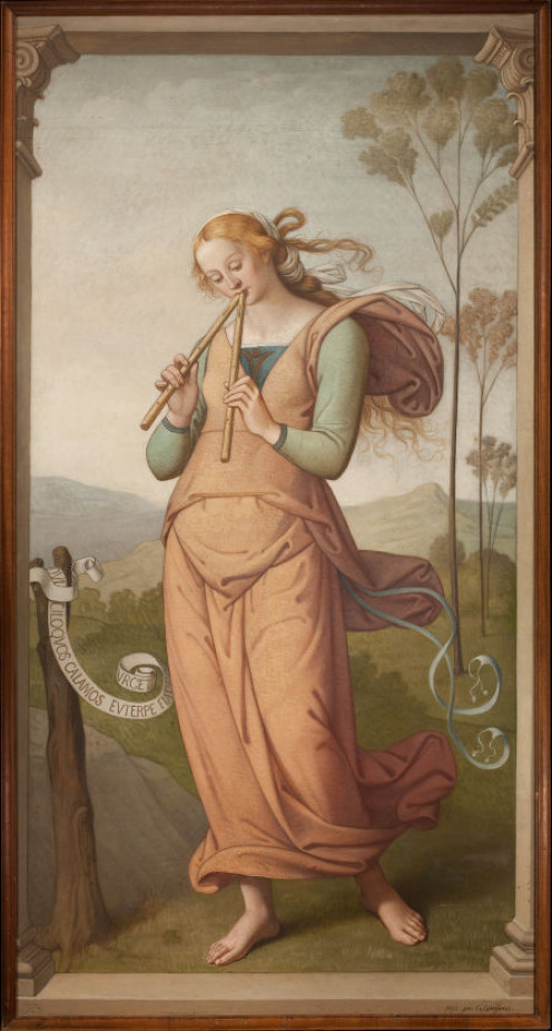 Euterpe, Muse of Poetry