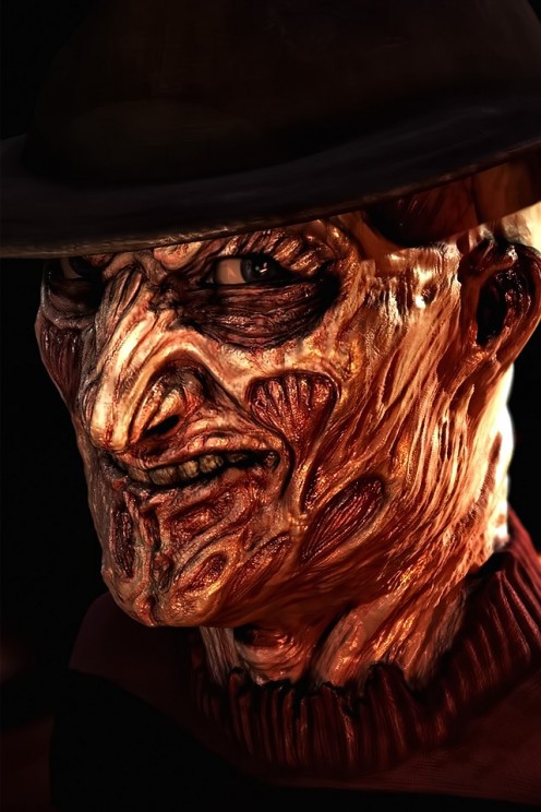 Image of Freddy Krueger the dream killer and sycophant