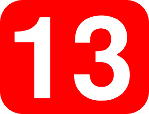 Does the number 13 make you uneasy?