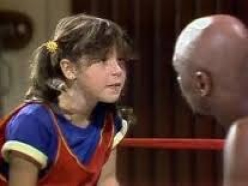 The Show Punky Brewster had a guest appearance by long time middleweight champion Marvelous Marvin Hagler.
