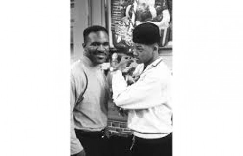 Evander Holyfield made a guest appearance on the hit 90's show Fresh Prince of Bel-Air.