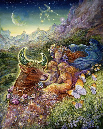 """What is the use in being headstrong and grounded?  Understanding """"I have"""", Taurus knows the worth of the earth."""
