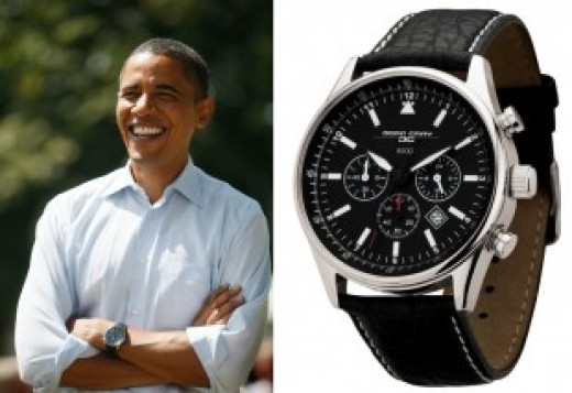 This Jorg Gray JG6500 watch is worn by both the United States Secret Service and the President  of the United States - Barack Obama.