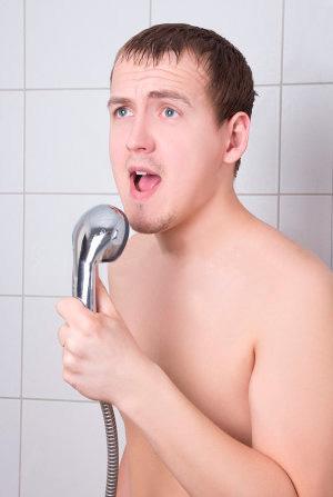 More shower singing.