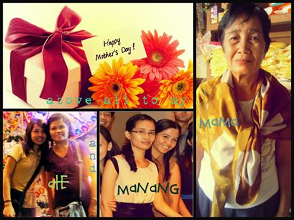 my mother, me, my friend, my sister
