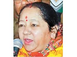 Wife of present Chief Minister Rawat of Uttarakhand from Congress