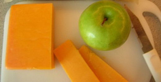 Cheddar and Apple