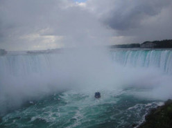 I fall for Niagara Falls
