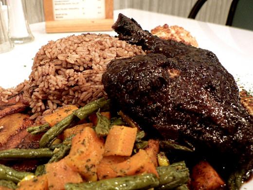 Jamaican Style Jerk Chicken